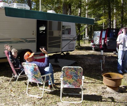 RV Site at the Campground